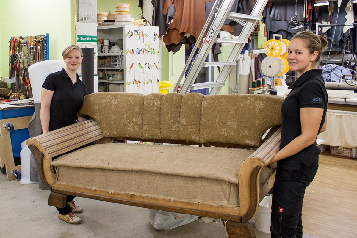 Polsterliebling – Ein Sofa entsteht