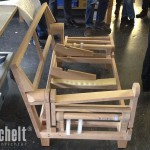 Gestellbau - So sieht das Sofa ohne die Polsterung aus.
