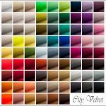 79 verschiedene Farben allein beim Stoff City Velvet