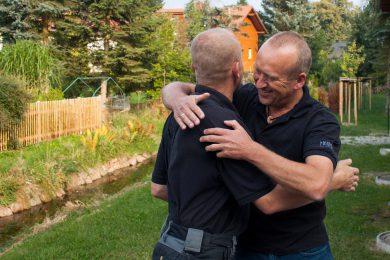 herzliche Umarmung von Ronny Wegbrod und Jörg Reichelt
